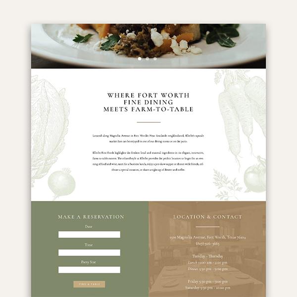 Branding by Nicole Website Design