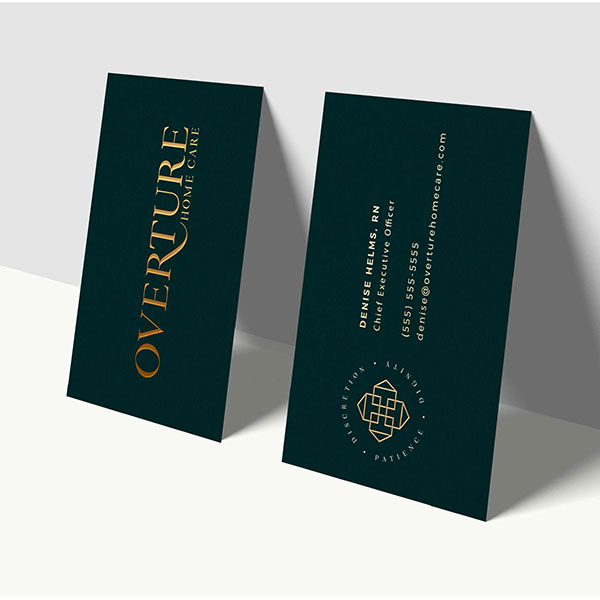 BBN Branding by Nicole Overture Home Care Logo